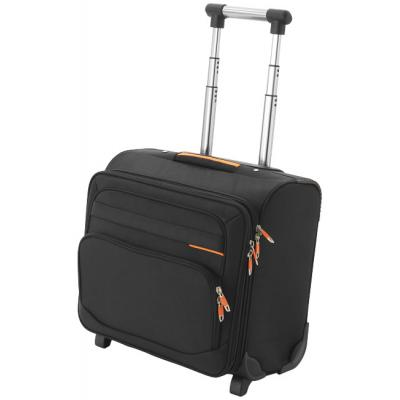 Image of Orange Line Business Bag On Wheels