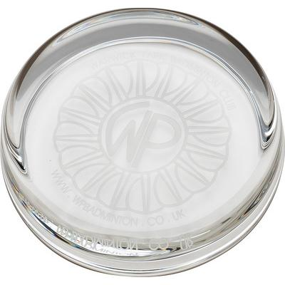 Image of 9cm Round Glass Paperweight