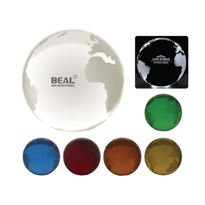 Image of Optical Crystal Globe 80mm