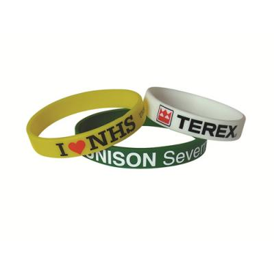 Image of Printed Silicon Wristbands