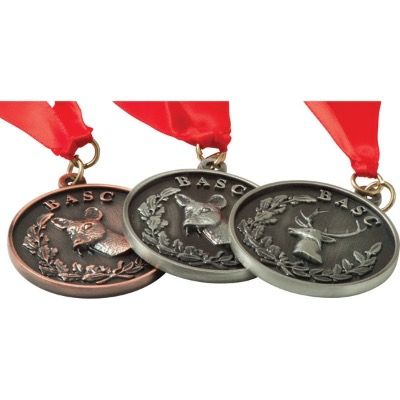 Image of Alloy Injection and Nickel Plated Medal