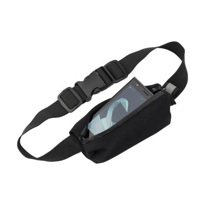 Image of Neoprene, zippered, waist bag