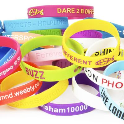 Image of Pantone Matched Silicone Wristbands