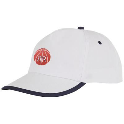 Image of Nestor 5 panel cap with piping